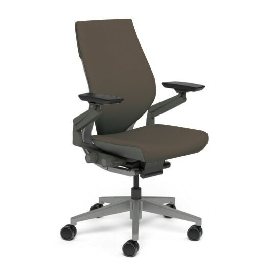 Steelcase スチールケース Gesture ジェスチャー チェア ワークチェア オフィスチェア パソコンチェア PCチェア 事務椅子 事務チェア 学習椅子 フィット 長時間 作業 疲れにくい 腰 サポート ラップバック ダーク ルートビア K-442A40DD