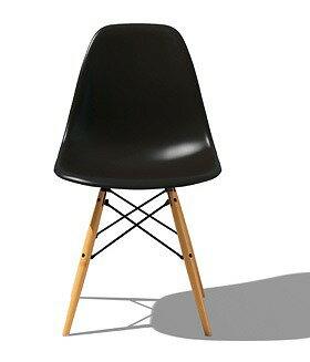 ハーマンミラー Hermanmiller イームズシェルサイドチェア チェア 北欧 北欧家具 家具 ダイニングチェア ダイニング シンプル 椅子 いす イス chair かわいい 木脚 リビングチェア リビング シンプル チェア おしゃれ インテリア DSW ZA ブラック