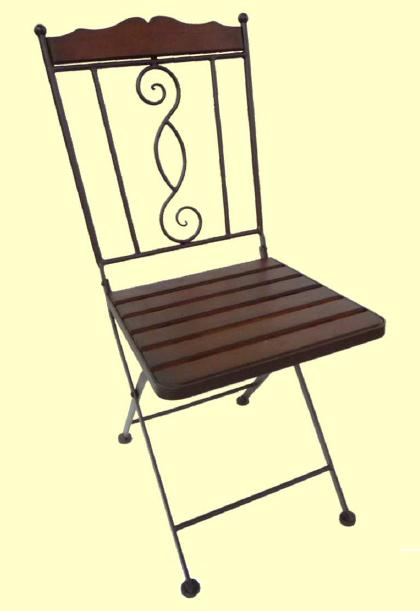 アイアン製 ガーデンチェア【MO-12-22】 1脚