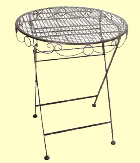 アイアン製 ガーデンテーブル【MO-12-37】