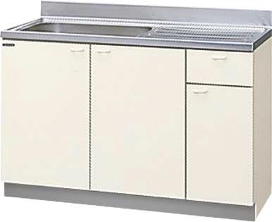 *クリナップ*KCT-120MTF/KCZ-120MTF 流し台 木キャビキッチン クリンウッドシリーズ 点検口付