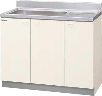 *クリナップ*KCT-100MF/KCZ-100MF 流し台 木キャビキッチン クリンウッドシリーズ 点検口付