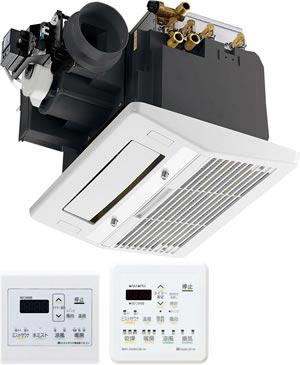 *ハーマン*ミストサウナ機能付浴室暖房乾燥機 コンパクト 1坪ユニットバス対応 [1室換気] FD2812F1MU