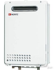 《送料無料》ノーリツ ガス給湯器 屋外壁掛形・24号オートストップタイプ GQ-2437WS