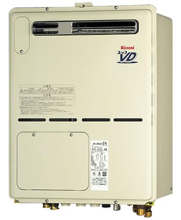 リンナイ ガス給湯暖房機 24号 フルオート RVD-A2400AW(A) 屋外壁掛・PS設置型