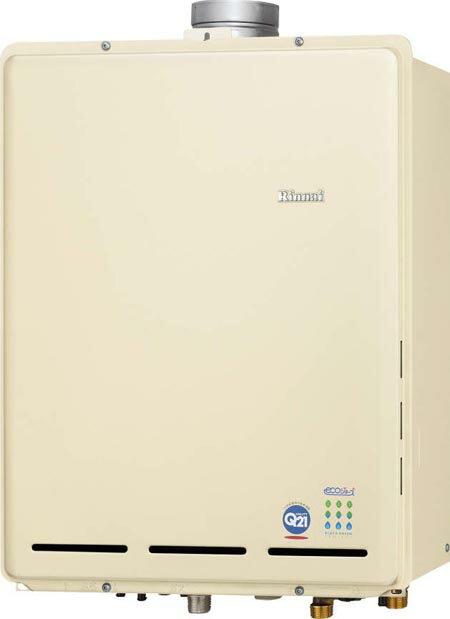 *リンナイ*RUF-TE2400AU ガス��給湯器 PS上方排気型 [フルオート] エコジョーズ 24�  カエッコ��料・代引無料】