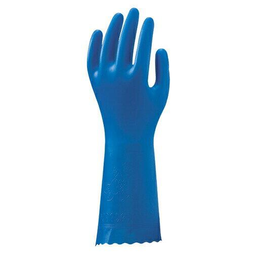 【送料無料】塩化ビニール製手袋 ブルーフィット(薄手) (240双入) NO181 ショウワグローブ