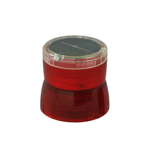 【送料無料】ニコソーラー NS-BR-M 赤 充電池 ニッケル水素 マグネット 日動工業