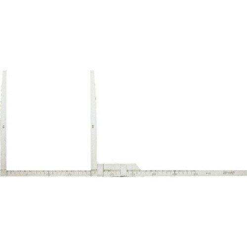 【送料無料】ステンレスはさみ尺 測定範囲 45cm・副尺長さ 26cm TCS-45