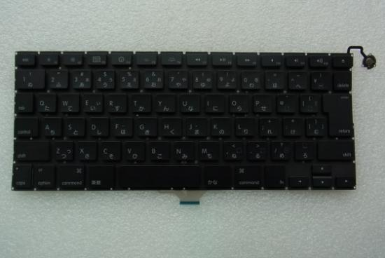 APPLE MACBOOK AIR A1237日本語 キーボード 黒