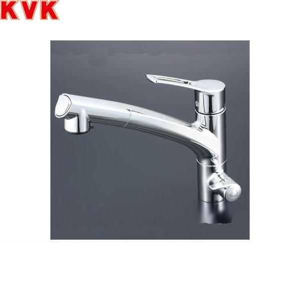 【フラッシュクーポン対象ショップ】KVK浄水器付シングルレバー式シャワー付混合栓KM5061NSC【送料無料】