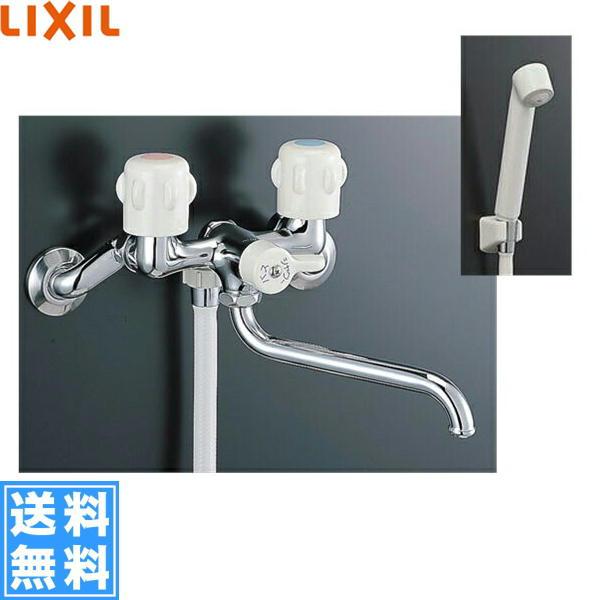 【フラッシュクーポン対象ショップ】リクシル[LIXIL/INAX]浴室用水栓BF-651-RU-U(寒冷地仕様)【送料無料】