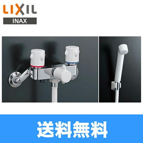 【フラッシュクーポン対象ショップ】リクシル[LIXIL/INAX]浴室用2ハンドル混合栓BF-M205H[シャワー専用][一般地仕様]【送料無料】