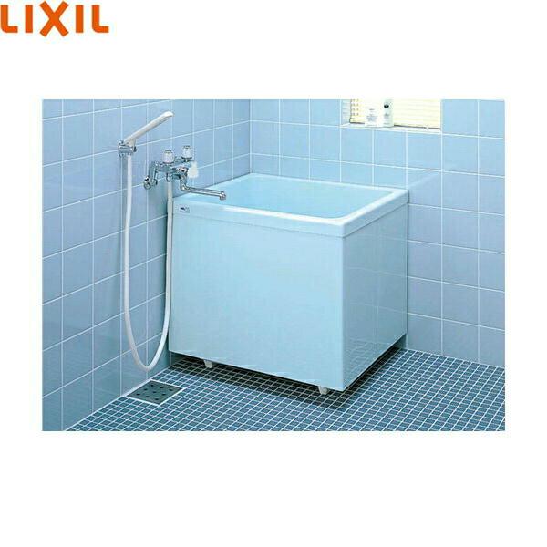 リクシル[LIXIL/INAX]ポリーナ浴槽[FRP製・760サイズ]PB-762CSM/410[巻フタ付][三方全エプロン]【送料無料】