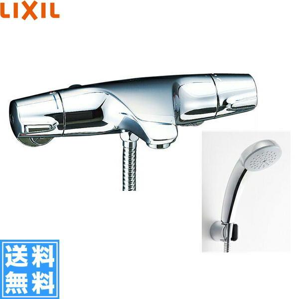 リクシル[LIXIL/INAX]シャワーバス水栓[サーモスタット][ジュエラシリーズ][寒冷地仕様]BF-J147TNSC【送料無料】