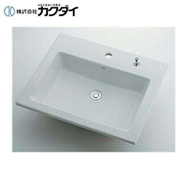 カクダイ[KAKUDAI]角型洗面器493-008H