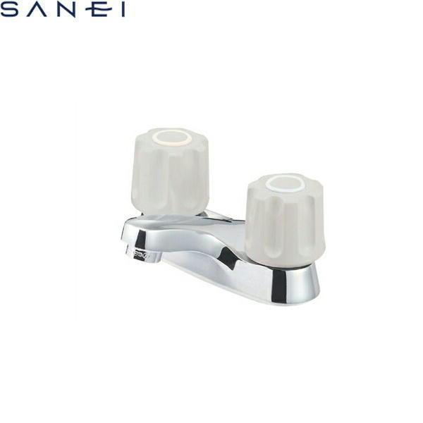 三栄水栓[SAN-EI]ツーバルブ洗面混合栓(ポップアップ用、引棒なし)K511NPK-LH[寒冷地仕様]【送料無料】