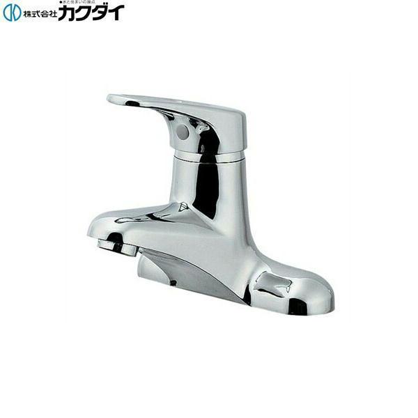[185-201K]カクダイ[KAKUDAI]シングルレバー混合栓[寒冷地仕様]【送料無料】