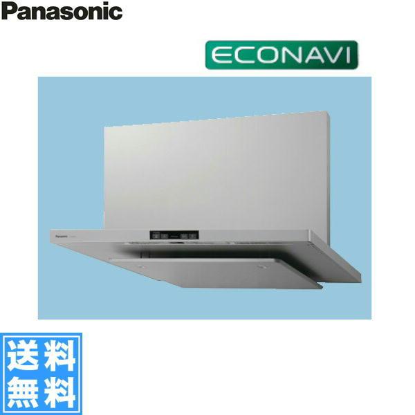 [FY-75DED2-S]パナソニック[Panasonic]レンジフード本体75cm幅・エコナビ�載フラット形レンジフード��料無料】