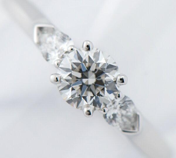 グラフ プロミス ダイヤモンド0.50ct F-VS1-VG ダイヤモンド計0.19ct リング プラチナ【中古】(2200000215048)