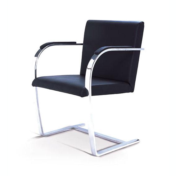 Mies(ミース・ファン・デル・ローエ) ブルーノチェア(Brno Chair)総本革仕様【送料無料】