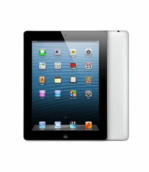【中古】【安心保証】 iPadRetina_4[WiFi32GB] ブラック