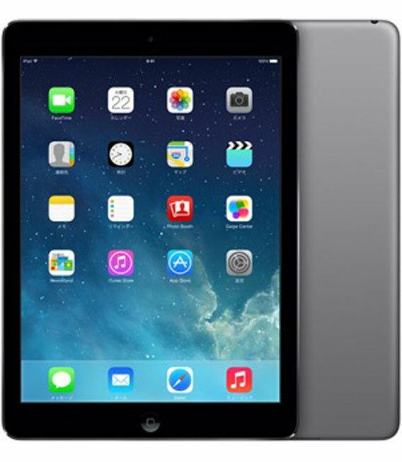 【中古】【安心保証】 au iPadAir_5[セルラー32GB] グレイ