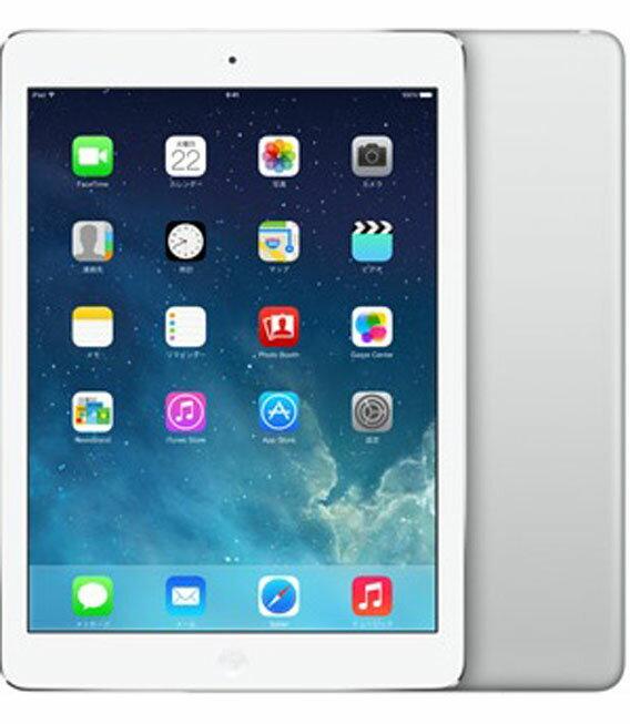 【中古】【安心保証】 au iPadAir_5[セルラー32GB] シルバー