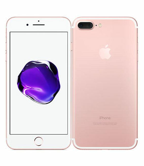 【中古】【安心保証】 docomo iPhone7Plus 128GB ローズゴールド