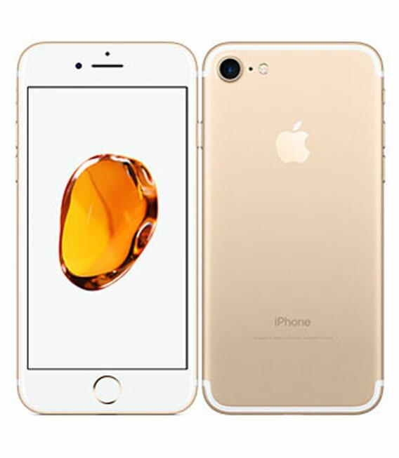�中�】�安心�証】 au iPhone7 32GB ゴールド