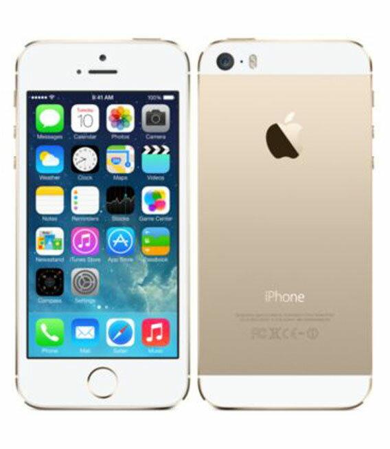 【中古】【安心保証】 au iPhone5s[32GB-a] ゴールド