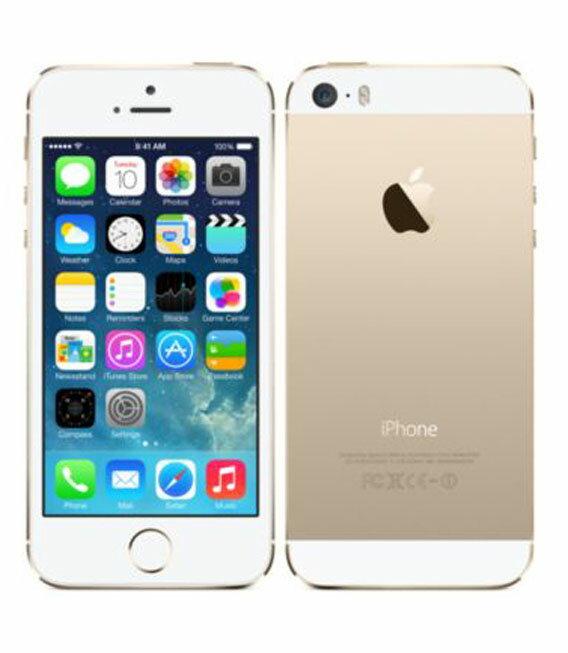 �中�】�安心�証】 au iPhone5s[64GB-a] ゴールド