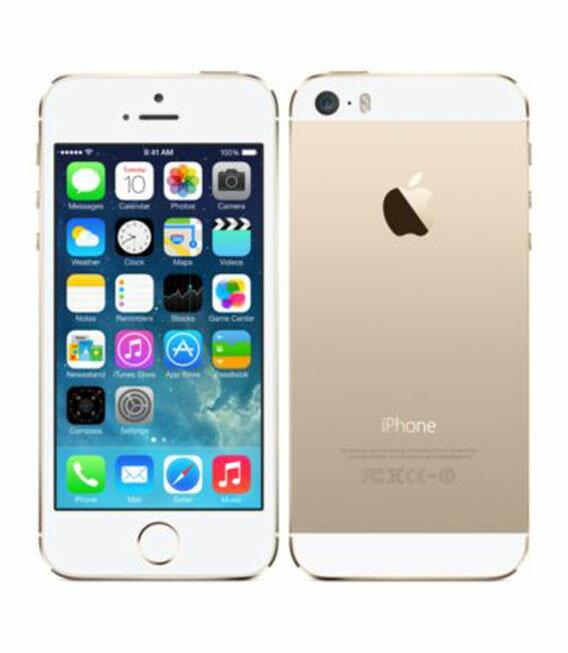 【中古】【安心保証】 SoftBank iPhone5s[16GB-s] ゴールド