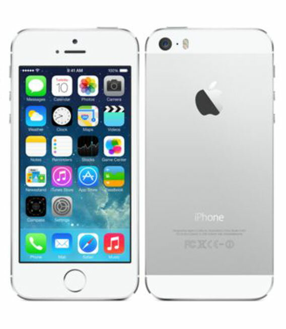 【中古】【安心保証】 SoftBank iPhone5s[32GB-s] シルバー