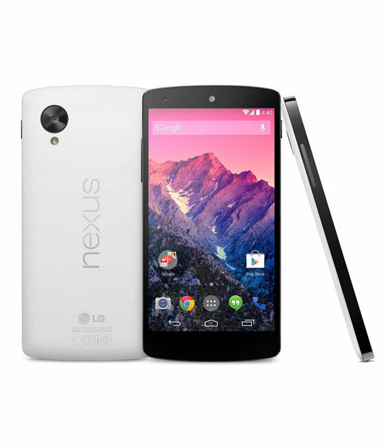 【中古】【安心保証】 Y!mobile Nexus5[32GB-EM] ホワイト