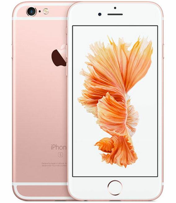 �中�】�安心�証】 SoftBank iPhone6s[64G] ローズゴールド