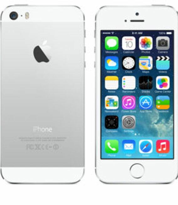 �中�】�安心�証】 au iPhone5s[16GB-a] シル�ー