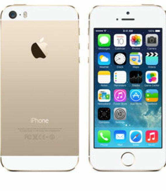 �中�】�安心�証】 au iPhone5s[32GB-a] ゴールド