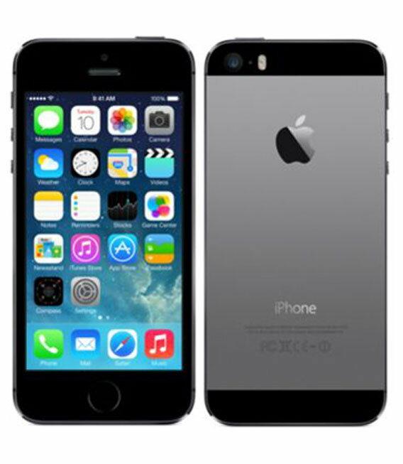 �中�】�安心�証】 docomo iPhone5s[64GB-d] スペースグレイ