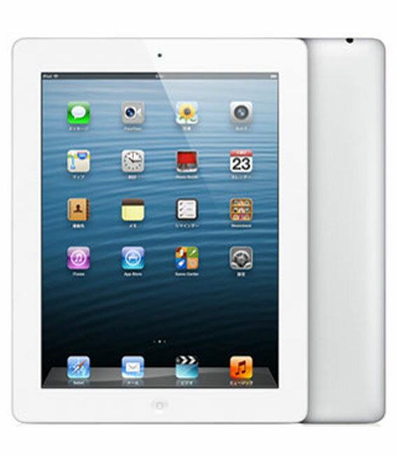 【中古】【安心保証】 iPadRetina_4[WiFi32GB] ホワイト