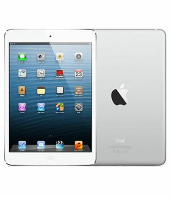 【中古】【安心保証】 SoftBank iPadmini1[セルラー64G] ホワイト