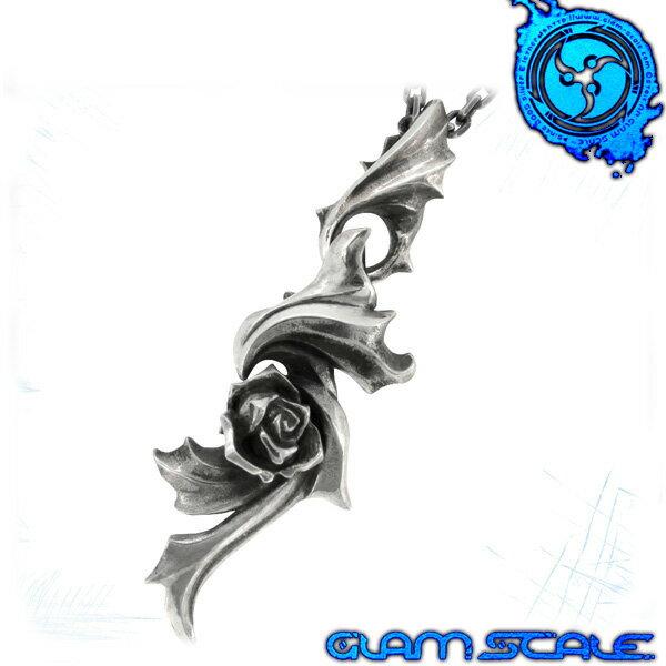 GLAM SCALE ET-006 イヴォルバー シルバー ネックレス Evolver シルバー925 バラ メンズ ペンダント et006 メンズネックレス 男性用ネックレス グラムスケイル ブランド プレゼント 人気 彼氏 おしゃれ