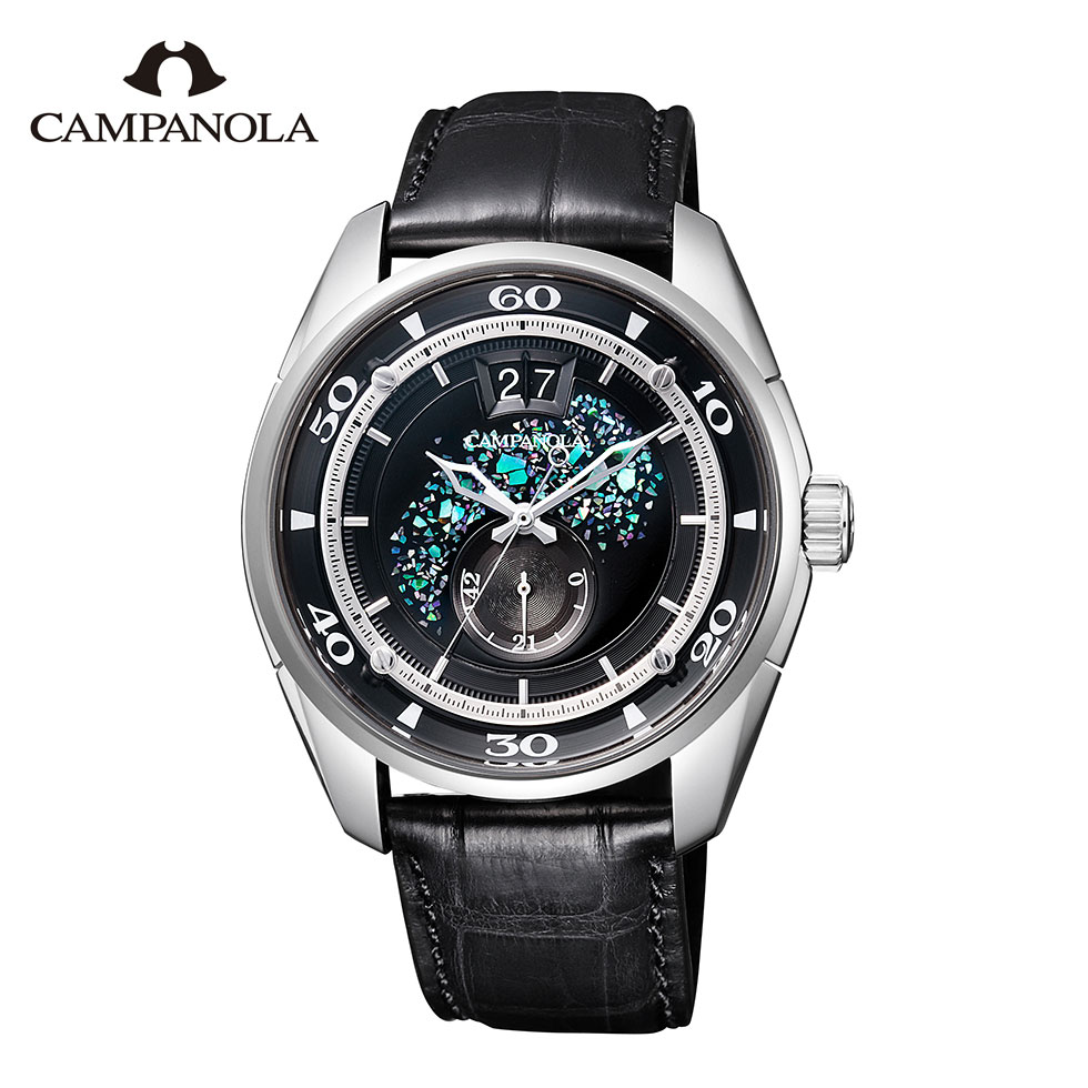 【ポイント10倍】カンパノラ メカニカルコレクション 琉雅 りゅうが NZ0000-07F CAMPANOLA Mechanical Collection 15周年記念モデル 送料無料 腕時計