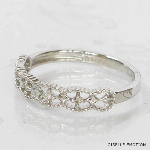 ピンキーリング 3号~7号 『K10ピンキーリング』ダイヤモンド 華奢ピンキーリング 重ね付けピンキーリング ファランジリング プレゼントピンキーリング おしゃれピンキーリング 指輪 結婚記念日 誕生日 プレゼント 妻 彼女