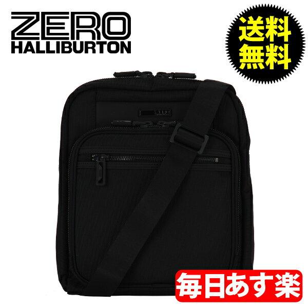 ZEROHALLIBURTON ZEST ゼスト Shoulder Bag Shoulder Bag Black ブラック 733-BK