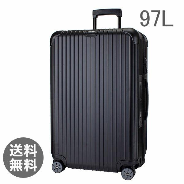 【E-Tag】 電子タグ RIMOWA リモワ サルサ 834.77 83477 マルチホイール 4輪 スーツケース ブラック MULTIWHEEL 97L (810.77.32.4)