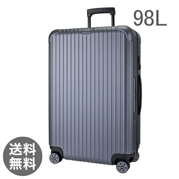 【E-Tag】 電子タグ RIMOWA リモワ SALSA サルサ 838.73 83873 Multiwheel マルチホイール スーツケース キャリーバッグ マットグレー 98L  (810.73.35.4)