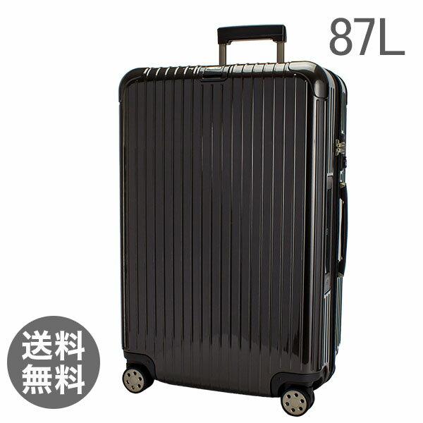 【E-Tag】 電子タグ RIMOWA リモワ SALSA Deluxe サルサデラックス 813.73 81373マルチホイール granite brown グラナイトブラウン MultiWheel 87L (830.73.33.4)