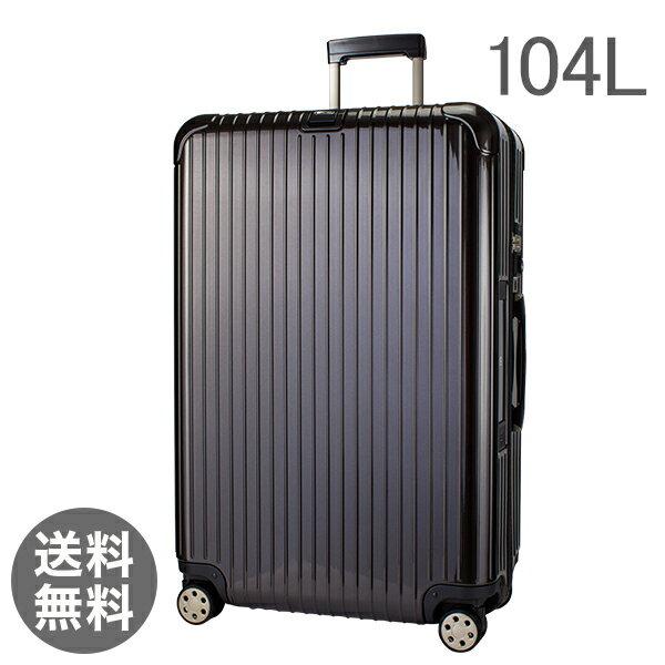 【E-Tag】 電子タグ RIMOWA リモワ SALSA Deluxe サルサデラックス 830.77.33.4 マルチホイール granite brown グラナイトブラウン MultiWheel 104L