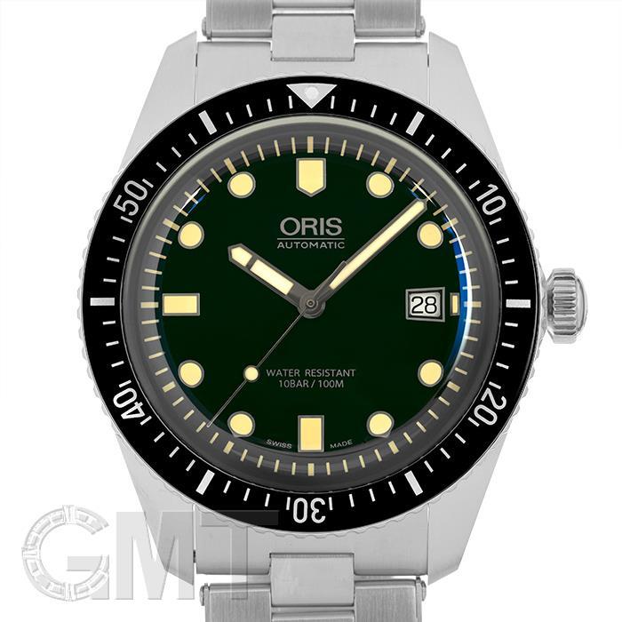 オリス ダイバース65 グリーン 733 7720 4057 M ORIS 【新品】【メンズ】 【腕時計】 【送料無料】 【あす楽_年中無休】